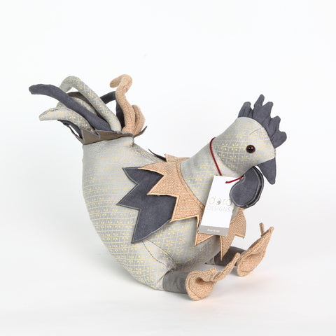 Posh Mr. Cockolarum Doorstop from Dora Designs