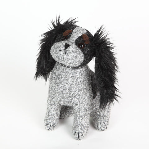 C.C. the King Charles Spaniel Doorstop from Dora Designs