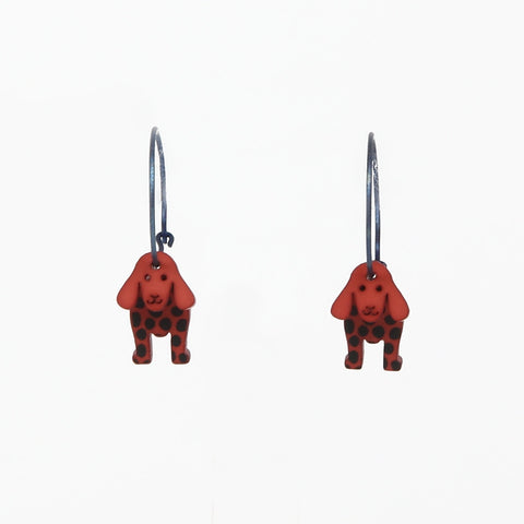 Lene Lundberg K-Form Spaniel Earrings