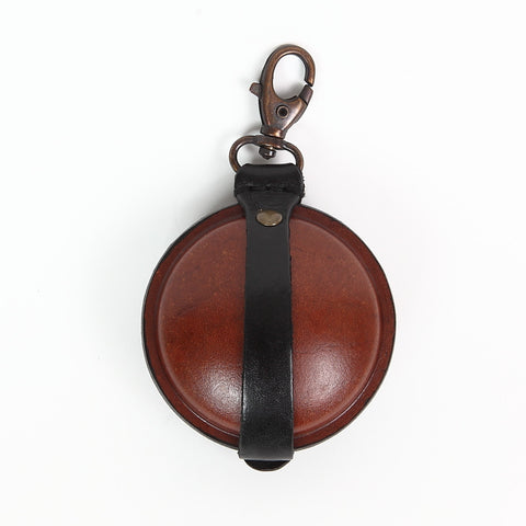 Paulette Rollo Black/Cognac Leather Purse