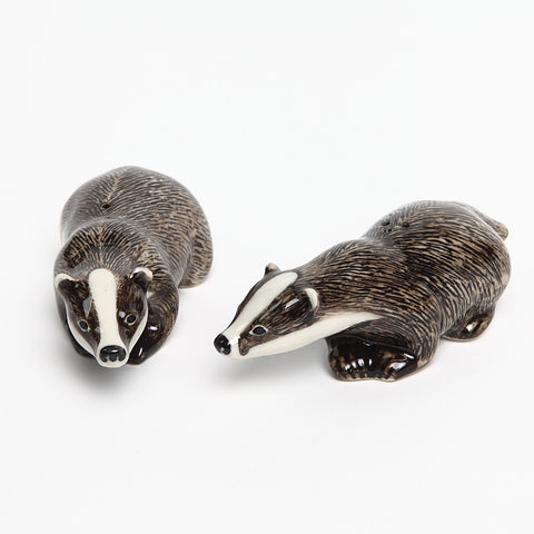Quail Ceramics Badger Salt and Pepper
