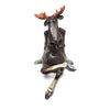 Naasgransgarden Quirky Ceramic Sitting Moose