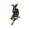 Naasgransgarden Quirky Ceramic Sitting Moose side view