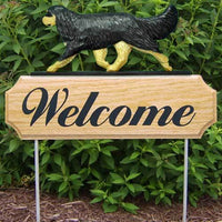 Cavalier King Charles Spaniel Welcome Sign