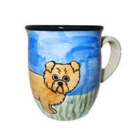 Norwich Terrier Hand-Painted Ceramic Mug