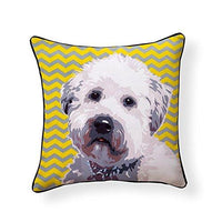 Soft-Coated Wheaten Terrier Pooch Decor Decorative Pillow
