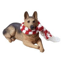 German Shepherd Dog, Laying, Ornament