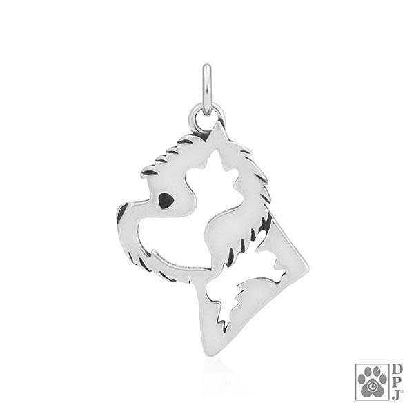 West Highland White Terrier, Head, Pendant