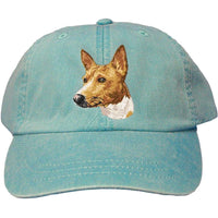 Basenji Embroidered Baseball Cap