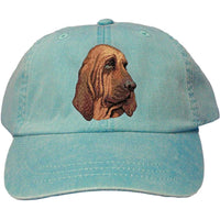 Bloodhound Embroidered Baseball Caps