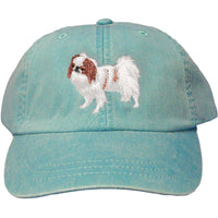 Japanese Chin Embroidered Baseball Caps