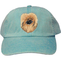 Pekingese Embroidered Baseball Caps