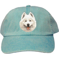 Samoyed Embroidered Baseball Caps