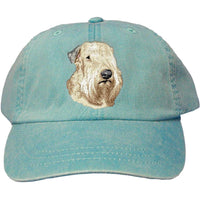 Soft Coated Wheaten Terrier Embroidered Baseball Caps