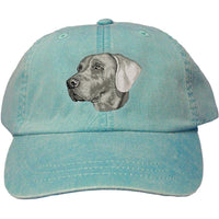 Weimaraner Embroidered Baseball Caps