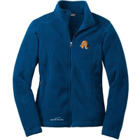 Airedale Terrier Ladies Fleece Jacket