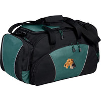 Airedale Terrier Embroidered Duffel Bags
