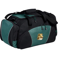 Shetland Sheepdog Embroidered Duffel Bags