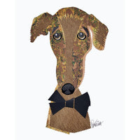 Greyhound Head Cork Head Bottle Stopper
