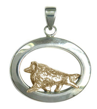 Shetland Sheepdog Sterling & 14k Gold Jewelry