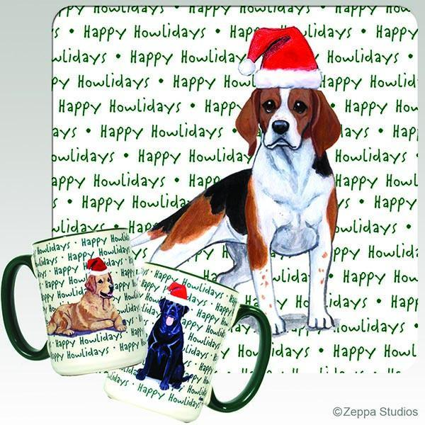 Beagle Holiday Mug