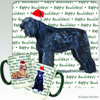 Bouvier des Flandres Holiday Mug
