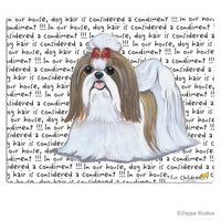 Shih Tzu, Tan and White Cutting Board
