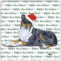 "Collie, Smooth ""Happy Howlidays"" Coaster"