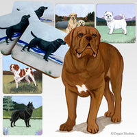Dogue de Bordeaux Scenic Coaster