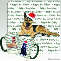 German Shepherd Dog Holiday Mug