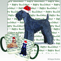 Kerry Blue Terrier Holiday Mug
