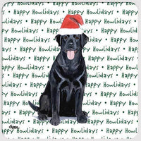 "Labrador Retriever ""Happy Howlidays"" Coaster"