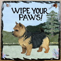 Norwich Terrier Slate Sign