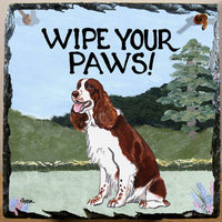 English Springer Spaniel Slate Sign