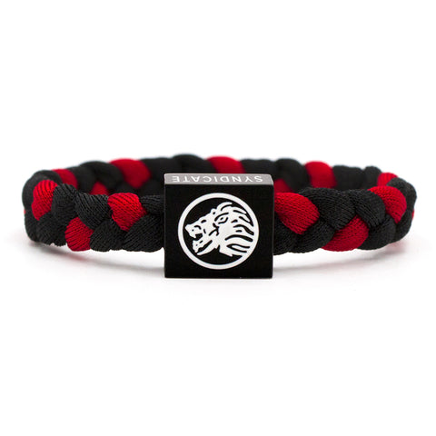 Red & Black Wristband 2 pack