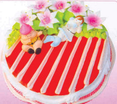 SD028 - Super Stripes Cake
