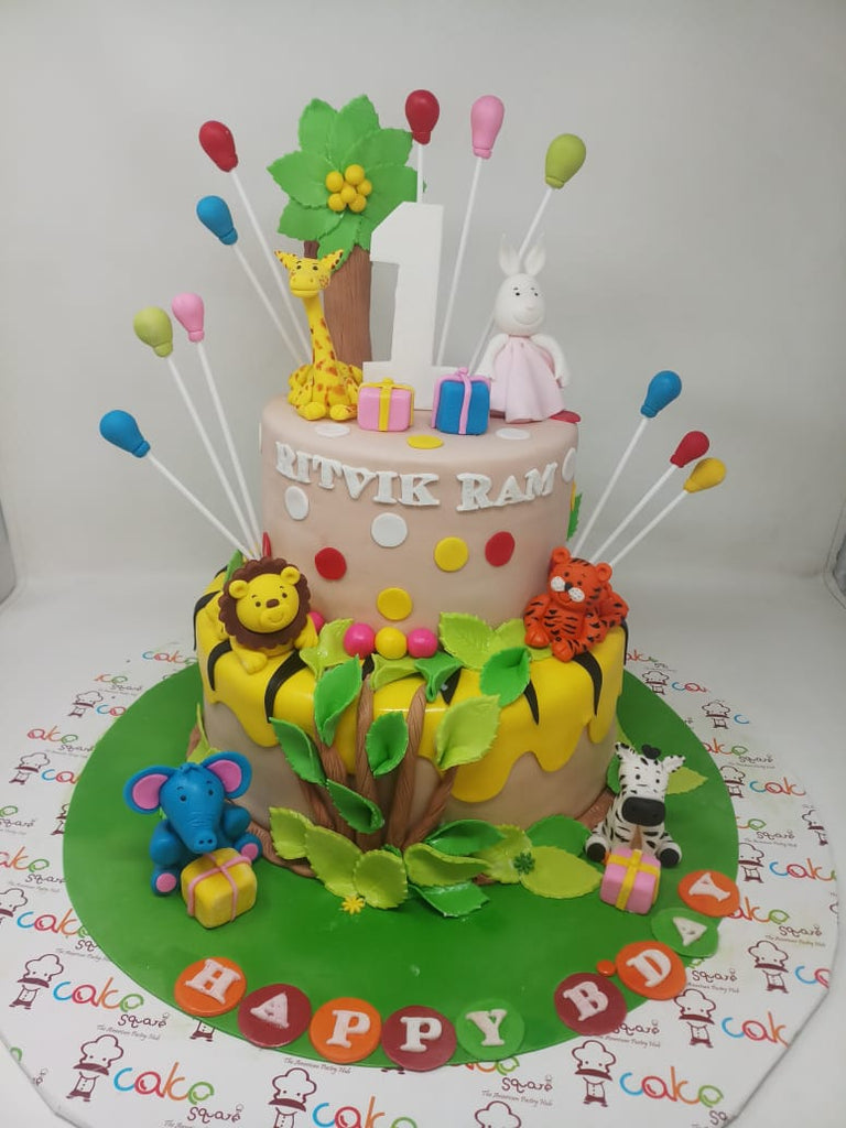 Madagascar Cartoon Cake 5kgbcg (121)