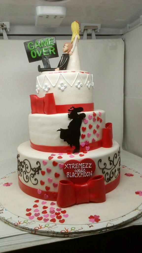 Just Married Cake 9kgwc155
