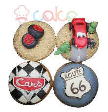 Car Cup Cakes
