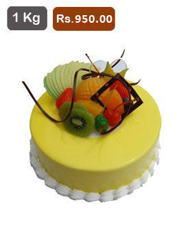 FC027- Fresh Fruit Flavour Cake