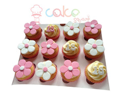 Flower Treat Cupcakes