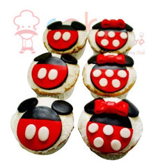 CP065-Mickey Cupcakes