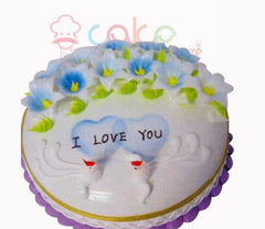 SD011 - I love You cake