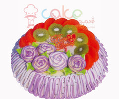 SD013 - Flower Frills Cake