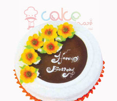 SD016 - Beautiful Brown Cake