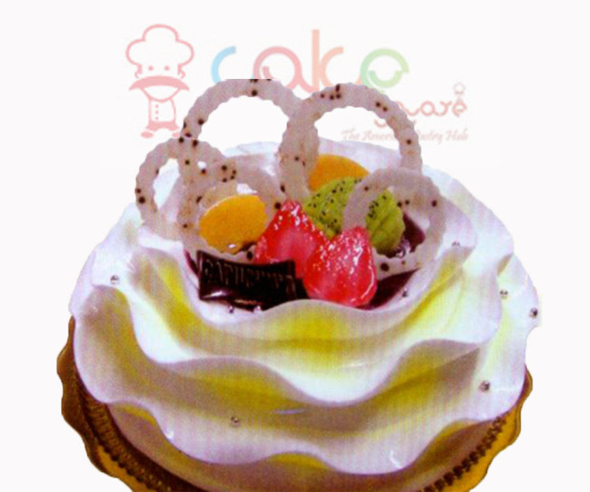 SD154 - Love Rings Cake