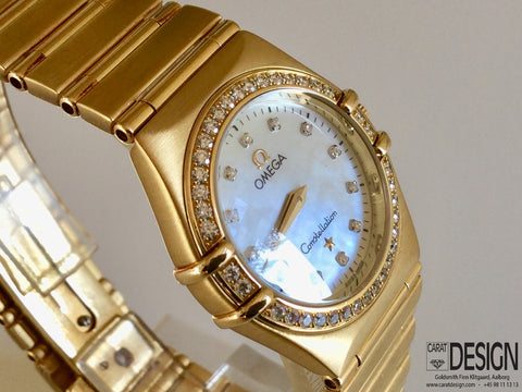 Omega Constellation 18K Yellow Gold 25mm - Mother of Pearl 2003