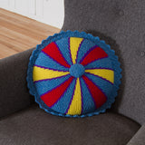 Circle Cut of Pie Cushion