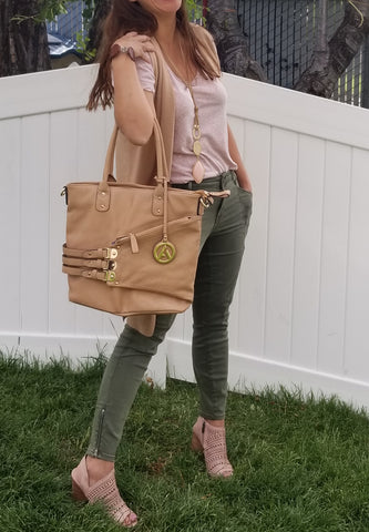 """NIKKI"" BOUND TOTE HANDBAG by lithyc"