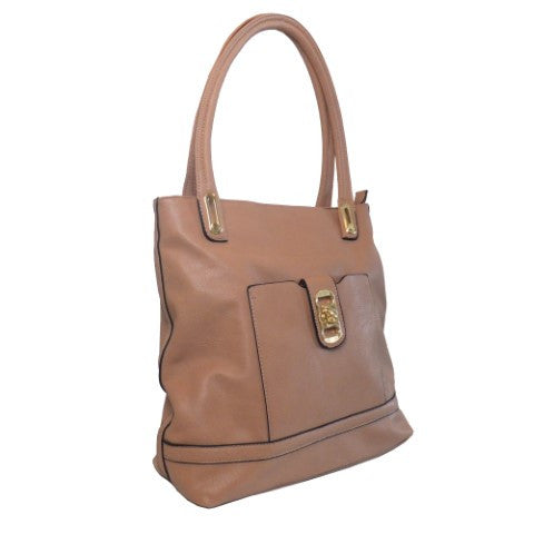 Lithyc 'Rachael' Medium Square Vegan Leather Tote Bag - lithyc.com